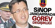 Sinop İl Jandarmada Görev Değişikliği