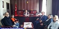 Türkiye Birincisinden Kaymakam Murat Güvene Ziyaret