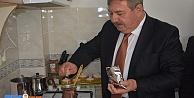 Doğalgazla ilk Kahvesini Yaptı