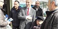 SPsi Adayı M. Ali Yavuz, Pazar Esnafını Gezdi