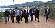Şahin Tepesi Servis Yolu Açıldı