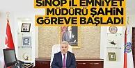 Sinop Emniyet Müdürü Şahin göreve başladı