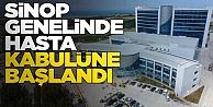 Sinop#039;taki hastanelerde hasta kabulüne başlandı