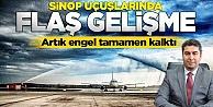 Sinop uçuşlarında önemli gelişme!