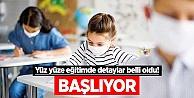 Sinop#039;ta yüz yüze eğitimle ilgili son dakika açıklaması