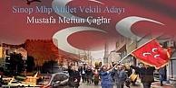 MHP Sinop Milletvekili Adayının Teşekkür Mesajı