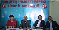 MHP Sinop'ta Adaylarını Tanıttı