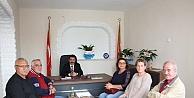 CHP İlçe Teşkilatından Ziyaret.