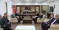 MHP'den Hoş Geldin Ziyareti