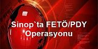 Sinop Emniyetinde Operasyon.