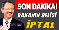 Sinop Ziyareti İptal Edildi.