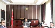 Kaymakam Murat Güven'e Ziyaret