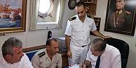 Protokol TCG Kilimli Gemisinde