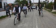 Protokolden Hamsilos' ta Bisiklet Gezisi