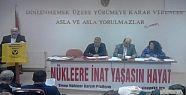 Sinop Nükleer Karşıtı Platform'da...
