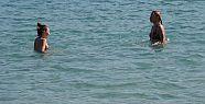 Sinop'un Denizi de Çok Sıcak