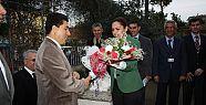Vali Cengiz Gerze Tarım' da.