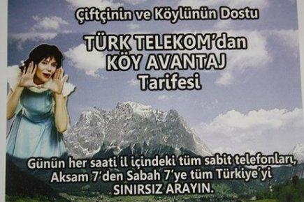 TÜRK TELEKOM'DAN KÖYLÜYE ÖZEL TARİFE