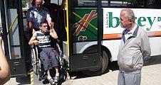 Belediye Otobüsü Servisten Kalkıyor.