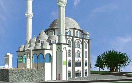 Yavuz Selim Camii İnşaatı Devam Ediyor.