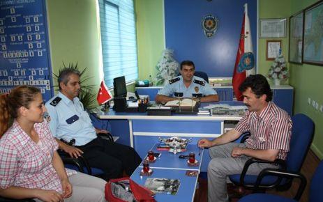Yeni Gerze Emniyet Müdürü Arslan görevine başladı