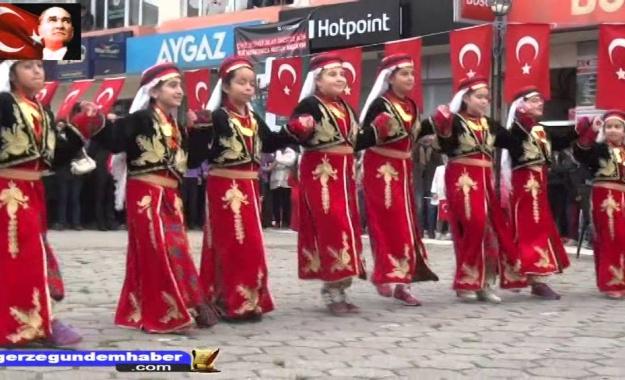 29 Ekim Cumhuriyet Bayramı 2015 Gerze