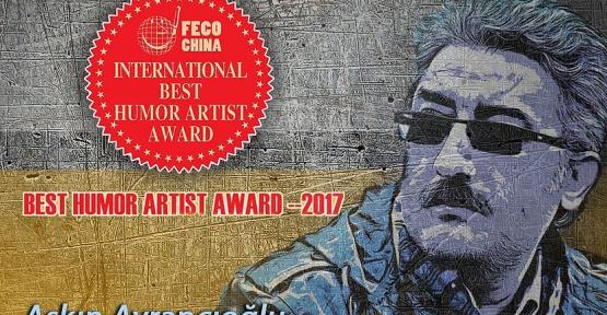 Boyabatlı Sanatçıya Çin'den Ödül