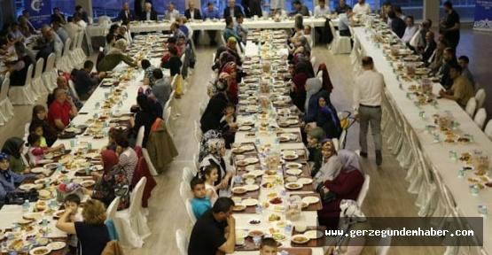 İlim yayma Cemiyeti'n den İftar Yemeği
