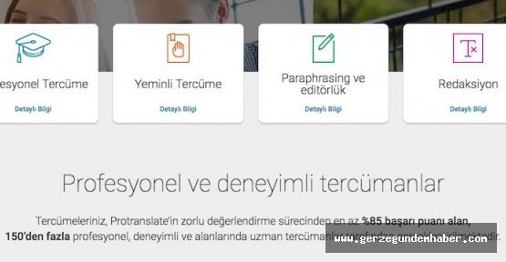 Sinop Yeminli Tercüme Ofisi Protranslate