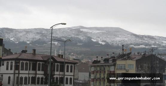 Dağlar Beyazladı