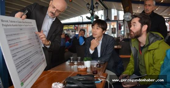 Japon medyası Sinop'ta: Sinop halkı bu santrali istemiyor!