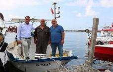 Karadeniz Balıkçıların Sorunlarını Dinliyor