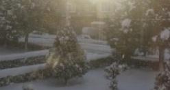 2015 İlk Kar yağdı