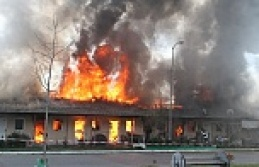 Balıkçı Barınağında Yangın
