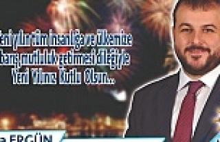 Ergün'den Kutlama Mesajı