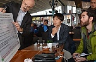 Japon medyası Sinop'ta: Sinop halkı bu santrali...