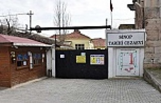 Cezaevi ziyarete kapatıldı