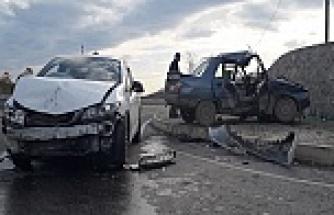 Kazada 3 kişi Yaralandı